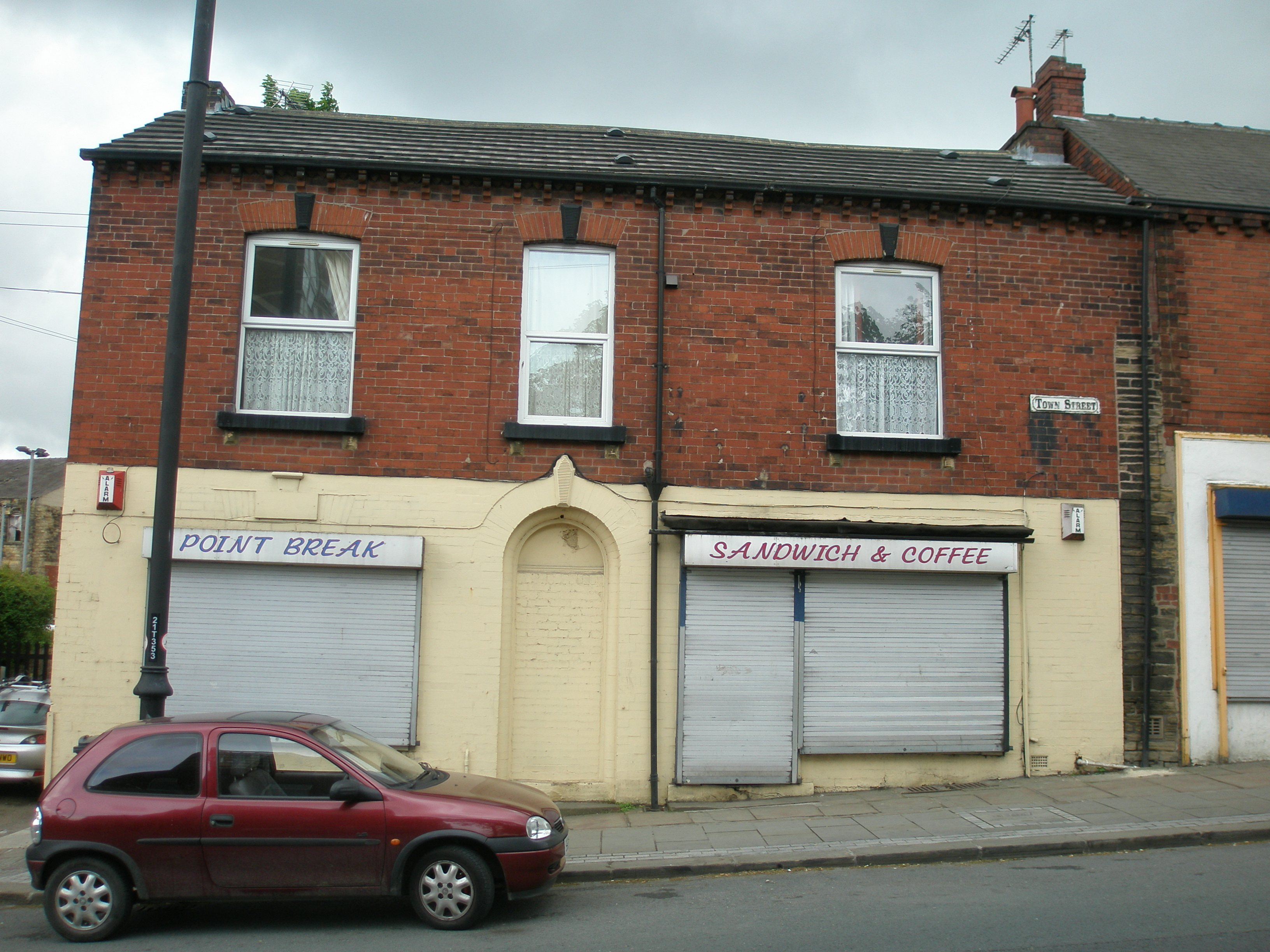 Front Elevation Before And After : Refurbishment and restoration armley code l architecture